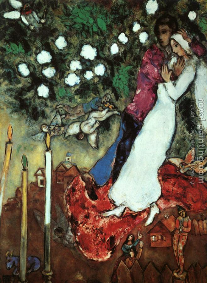 Marc Chagall : The Three Candles
