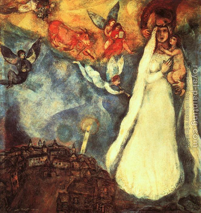 Marc Chagall : Madonna of the Village
