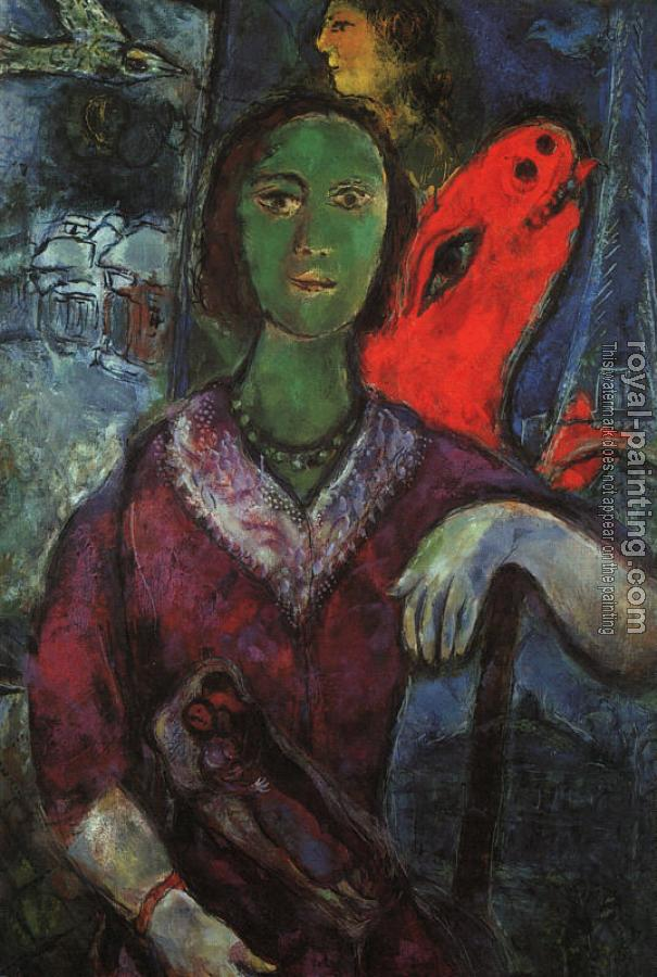Marc Chagall : Portrait of Vava