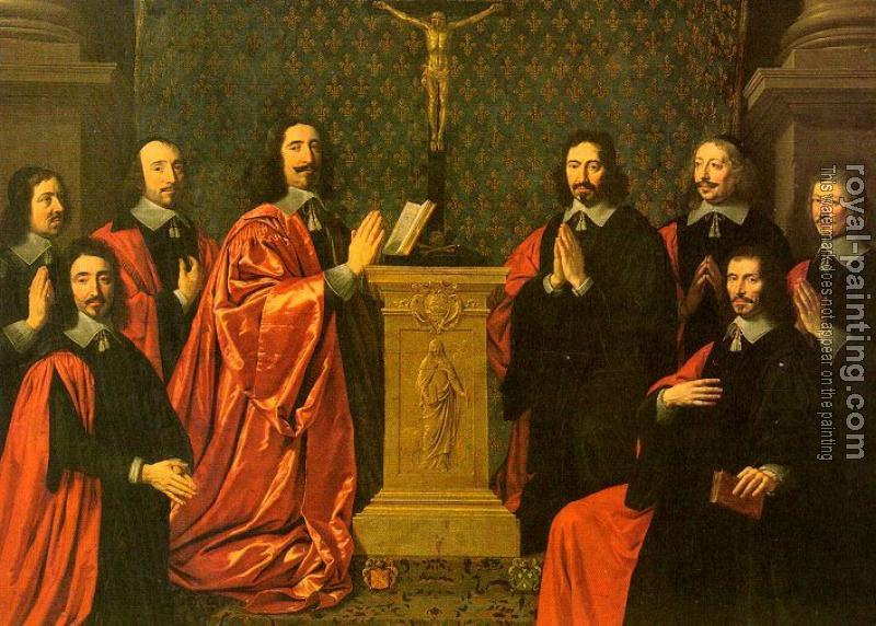 Philippe De Champaigne : The Aldermen of the City of Paris