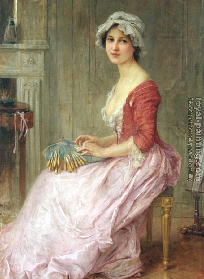 Charles Amable Lenoir : The Seamtress