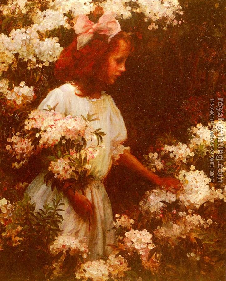 Charles Courtney Curran : Garden Walk