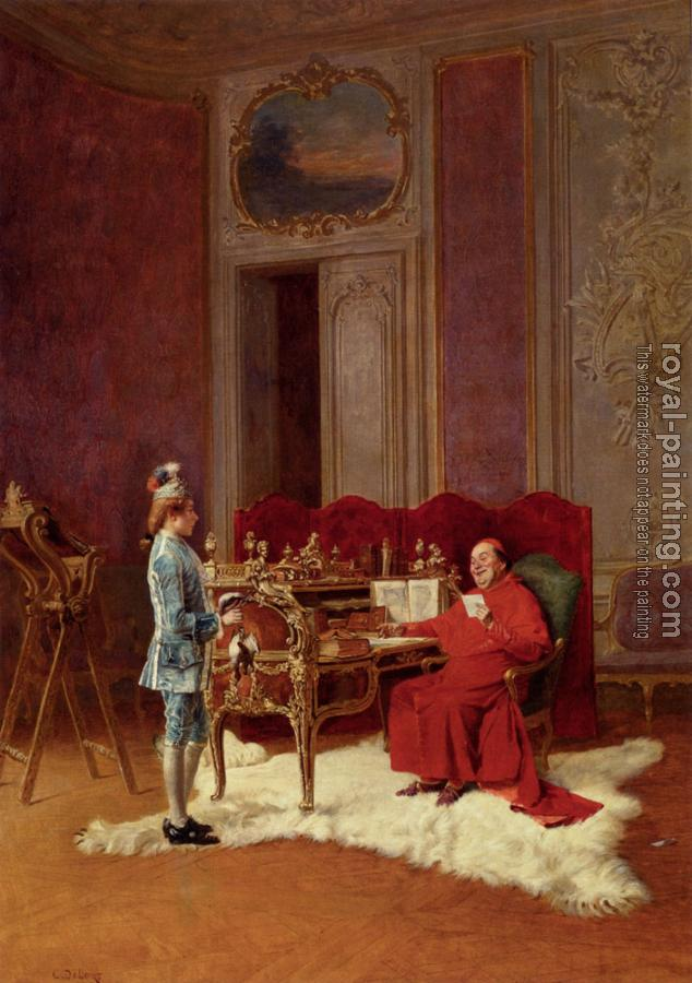 Charles Edouard Edmond Delort : Game For The Cardinal