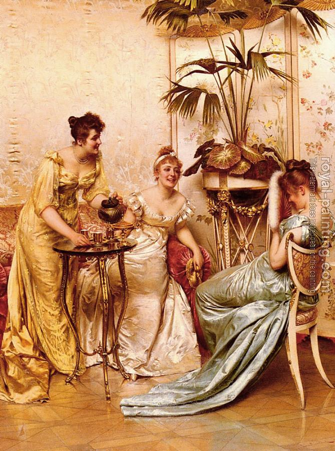 Charles Joseph Frederic Soulacroix : The Tea Party