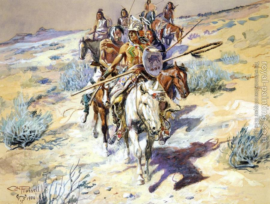 Charles Marion Russell : Return of the Warriors