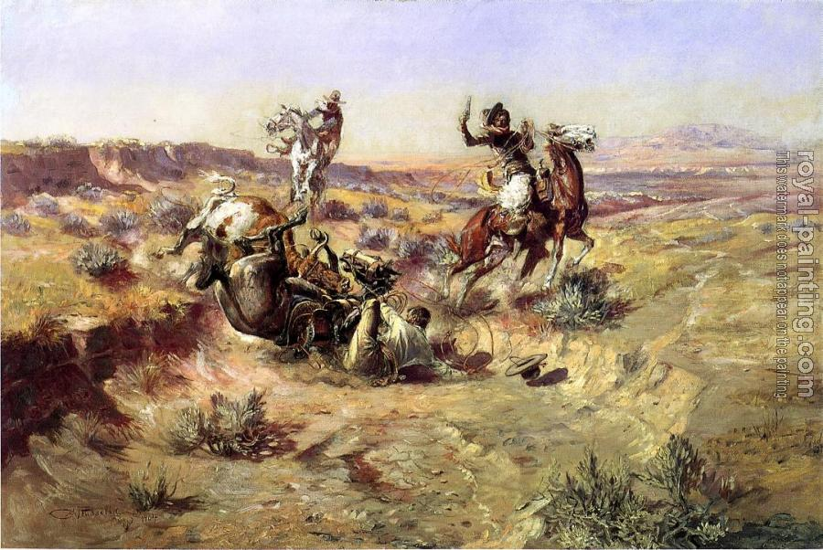 Charles Marion Russell : The Broken Rope