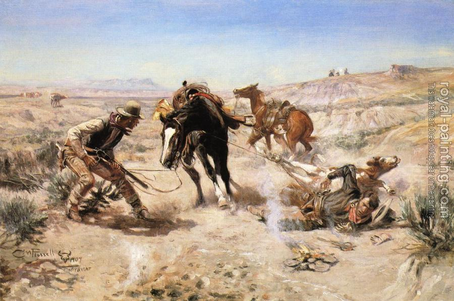 Charles Marion Russell : The Cinch Ring