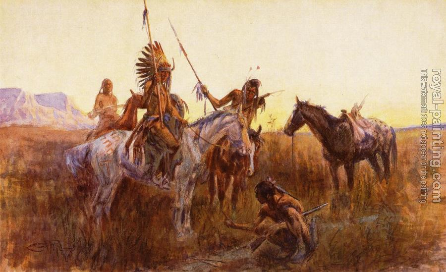 Charles Marion Russell : The Lost Trail