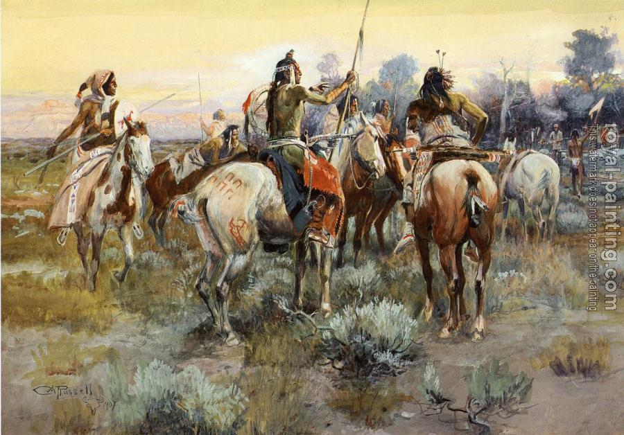 Charles Marion Russell : The Truce