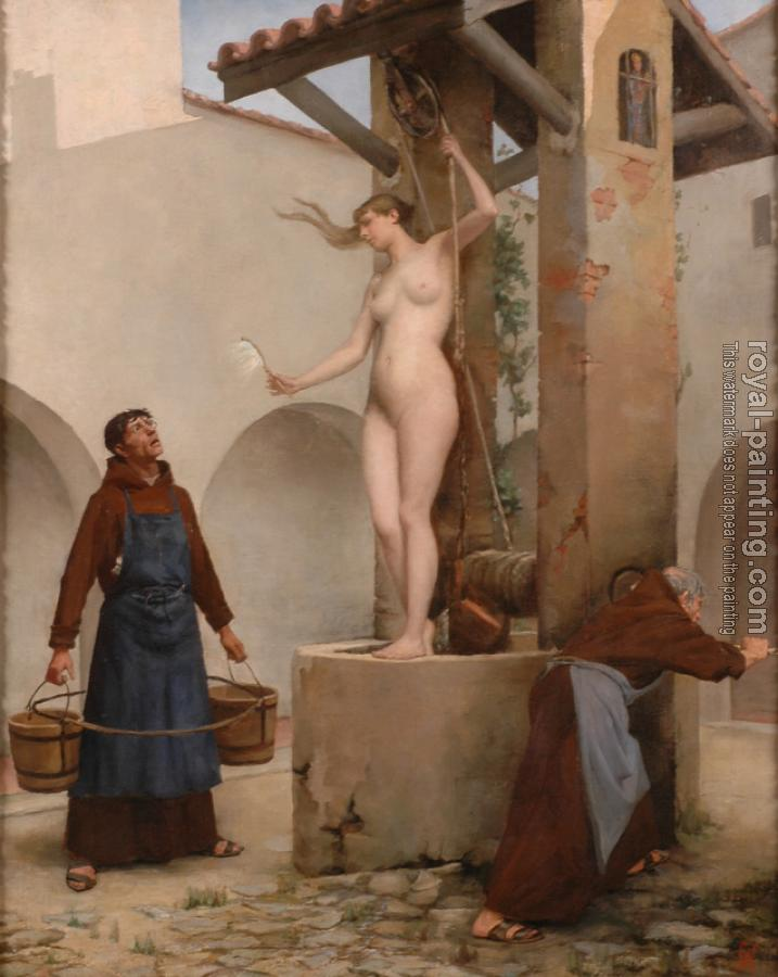 Charles West Cope : Spirit of the Well
