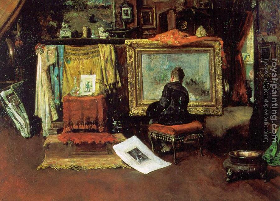 William Merritt Chase : The Tenth Street Studio
