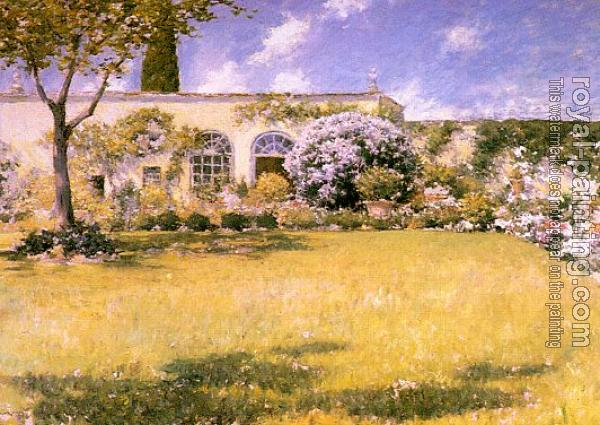 William Merritt Chase : The Orangerie