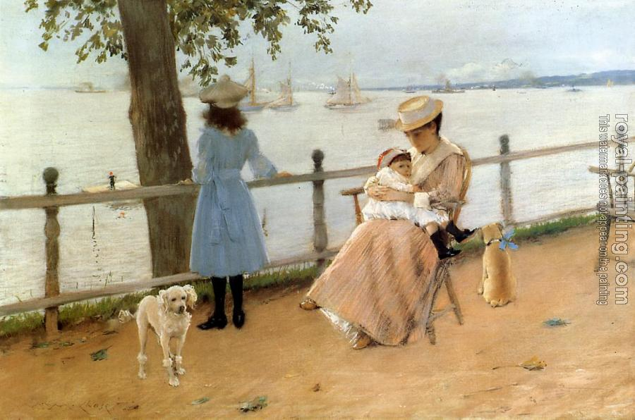 William Merritt Chase : Afternoon by the Sea aka Gravesend Bay