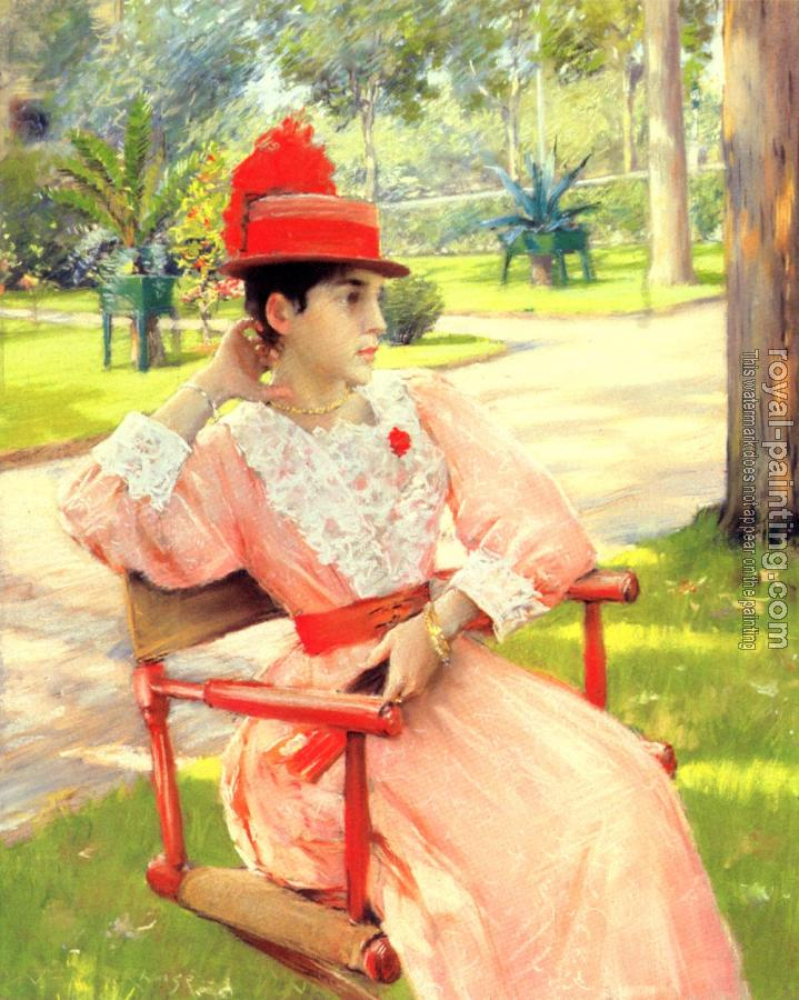 William Merritt Chase : Afternoon In The Park