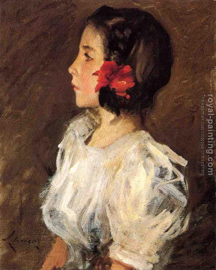 William Merritt Chase : Dorothy II