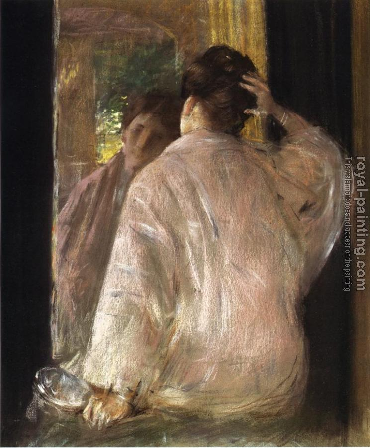 William Merritt Chase : Dorothy (mirror)