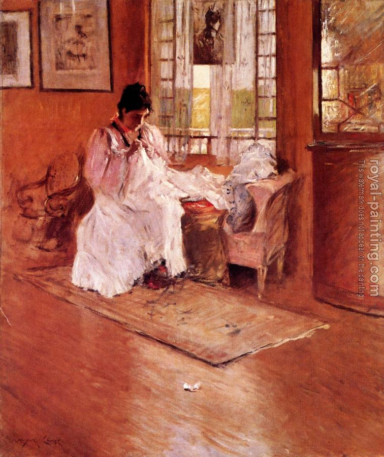 William Merritt Chase : For the Little One aka Hall at Shinnecock