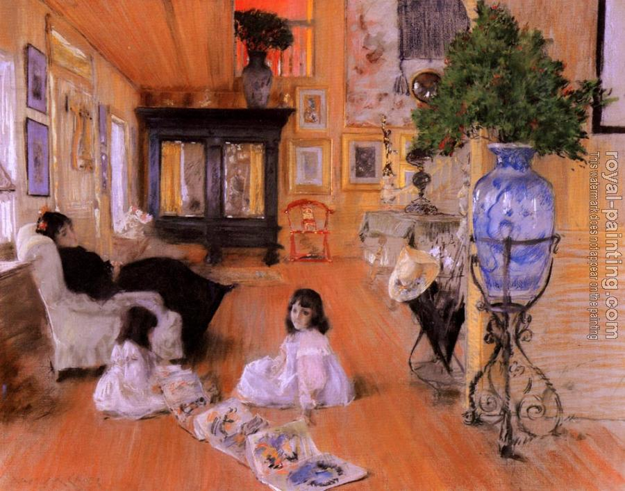 William Merritt Chase : Hall At Shinnecock
