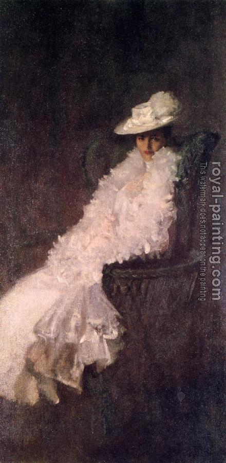 William Merritt Chase : My Daughter Dieudonnee aka Alice Dieudonnee Chase
