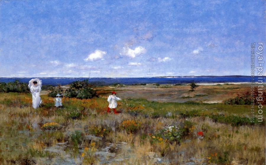 William Merritt Chase : Near the Beach Shinnecock