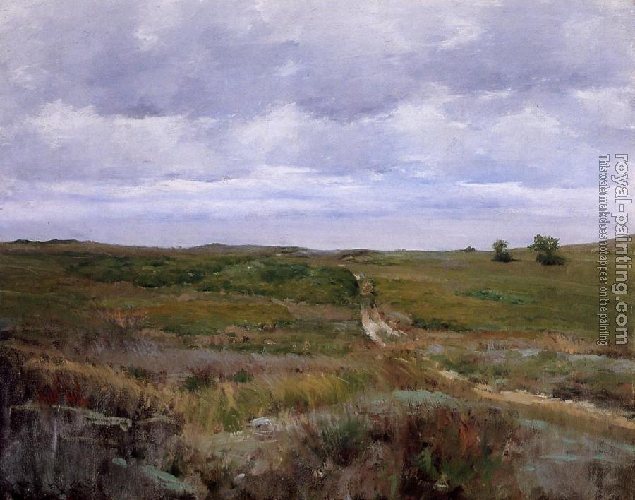 William Merritt Chase : Over the Hills and Far Away