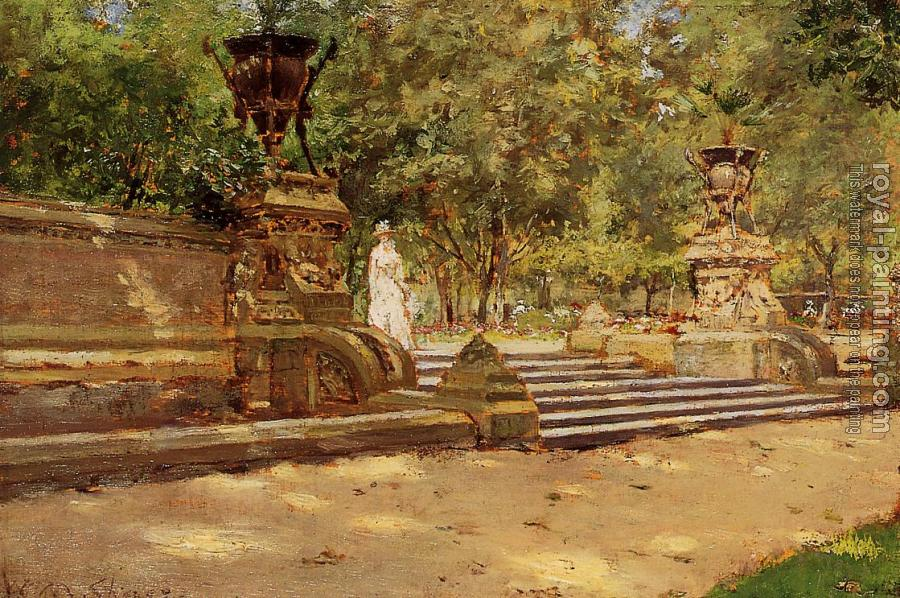 William Merritt Chase : Prospect Park Brooklyn
