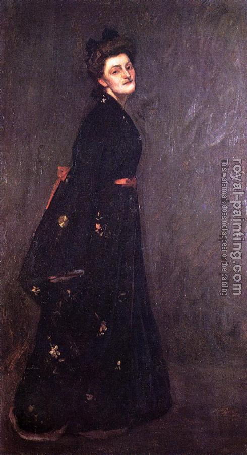 William Merritt Chase : The Black Kimono