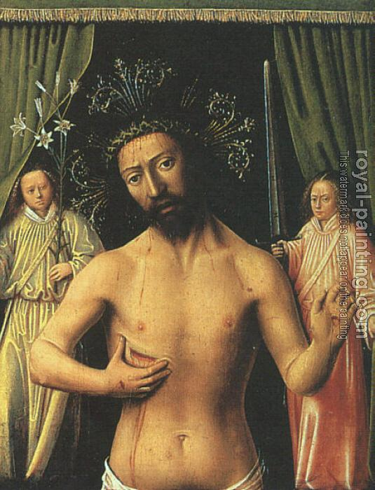 Petrus Christus : The Man of Sorrows