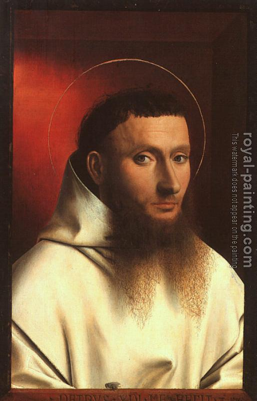 Petrus Christus : Portrait of a Carthusian