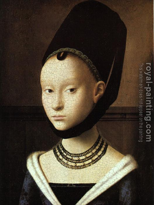 Petrus Christus : Portrait of a Young Woman