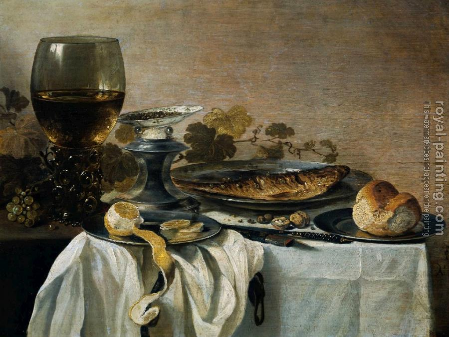 Pieter Claesz : Still Life with Fish