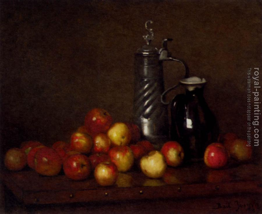 Claude Joseph Bail : Apples With A Tankard And Jug