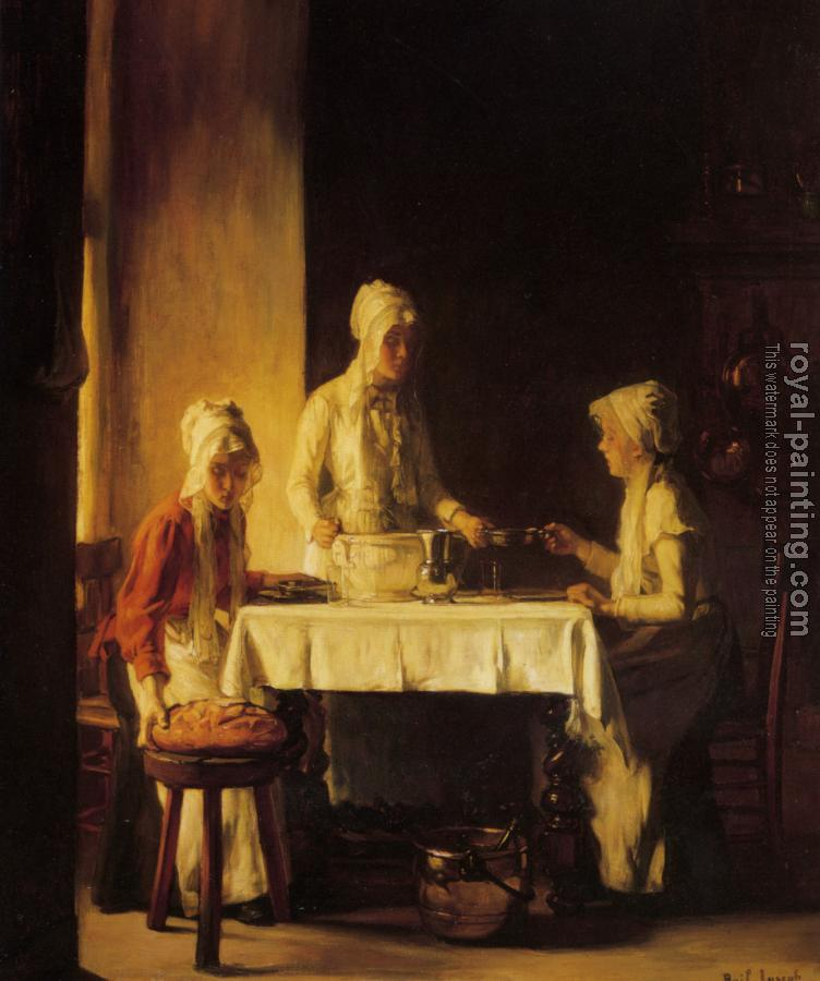 Claude Joseph Bail : Preparing The Meal