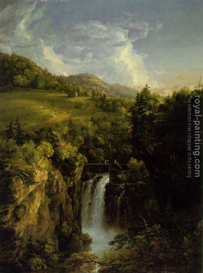 Thomas Cole : Genesee Scenery