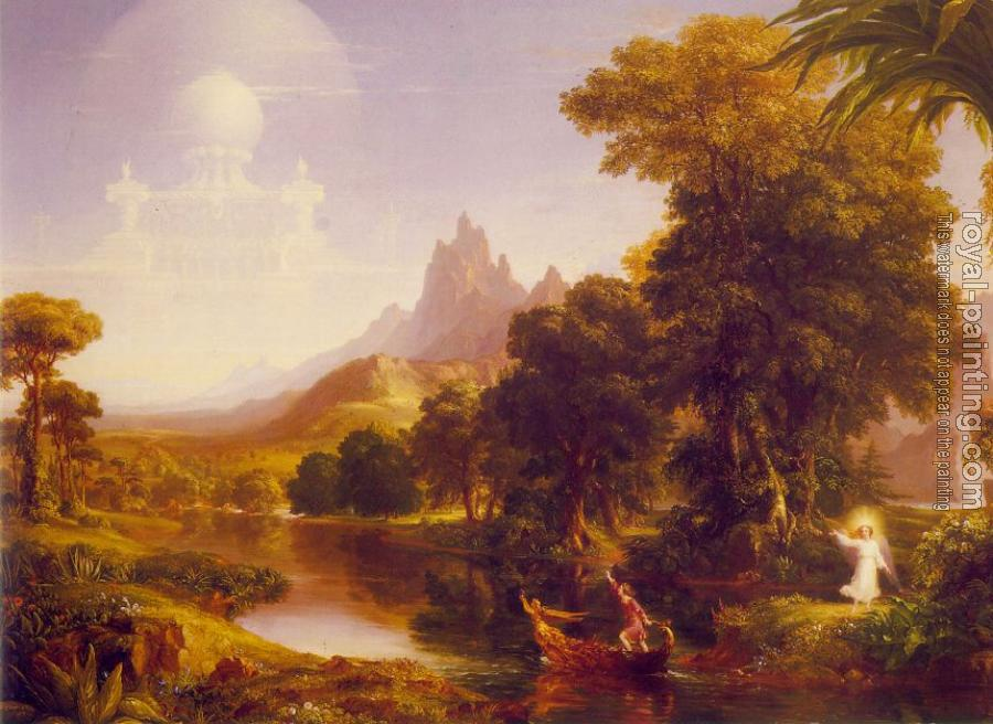Thomas Cole : The Voyage of Life: Youth