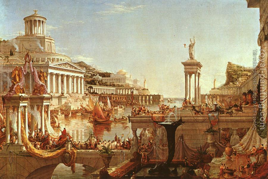 Thomas Cole : The Consummation, from the series: The Course of the Empire