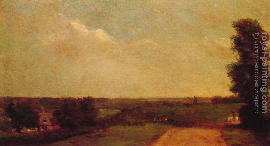 John Constable : View Towards Dedham