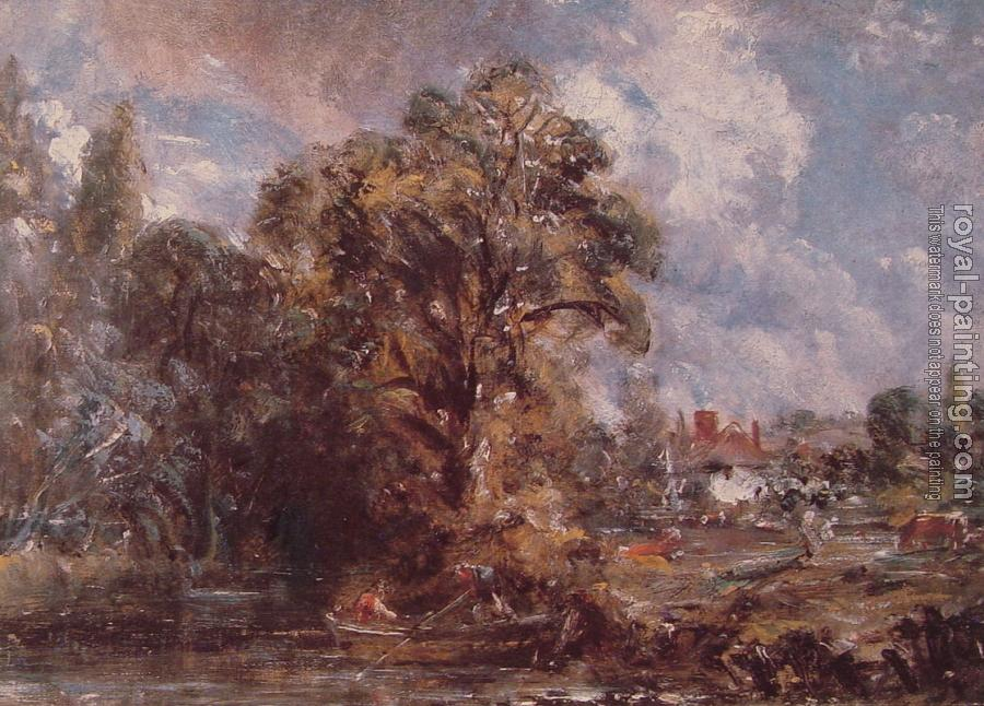 John Constable : Scene on a River II