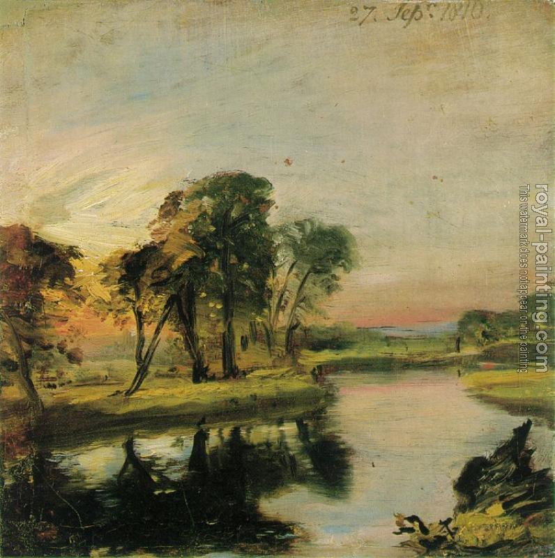 John Constable : The Stour