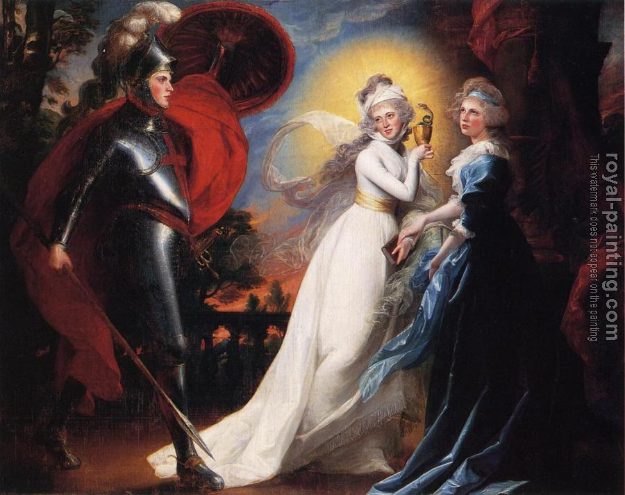 John Singleton Copley : The Red Cross Knight