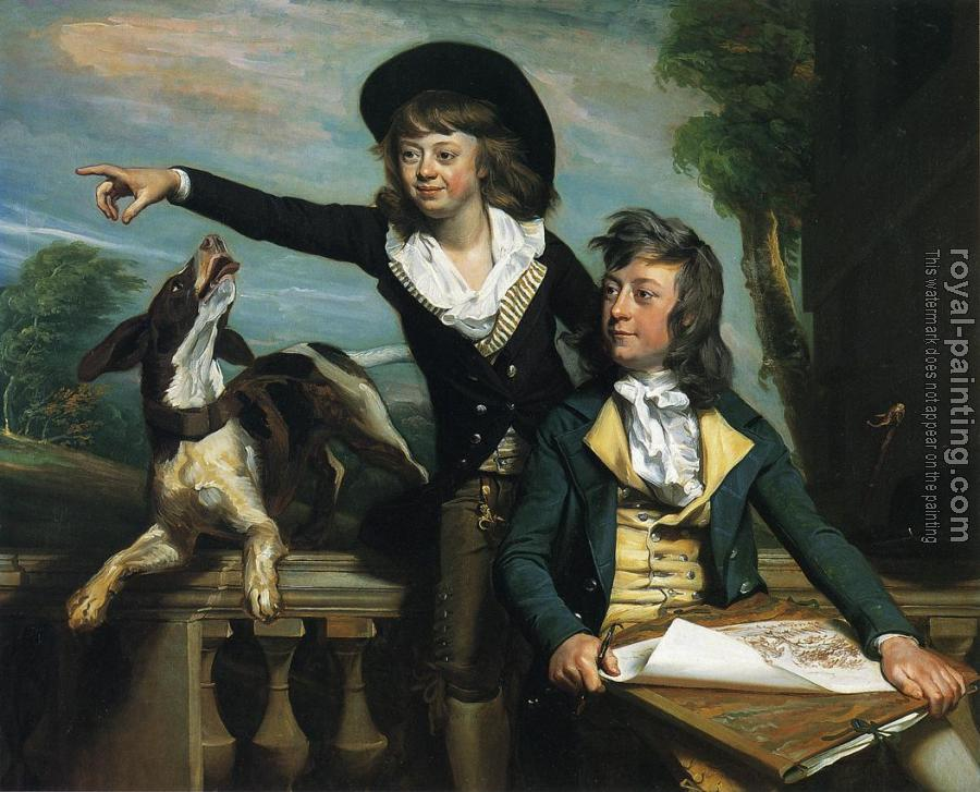 John Singleton Copley : Charles Callis Western and His Brother Shirley Western