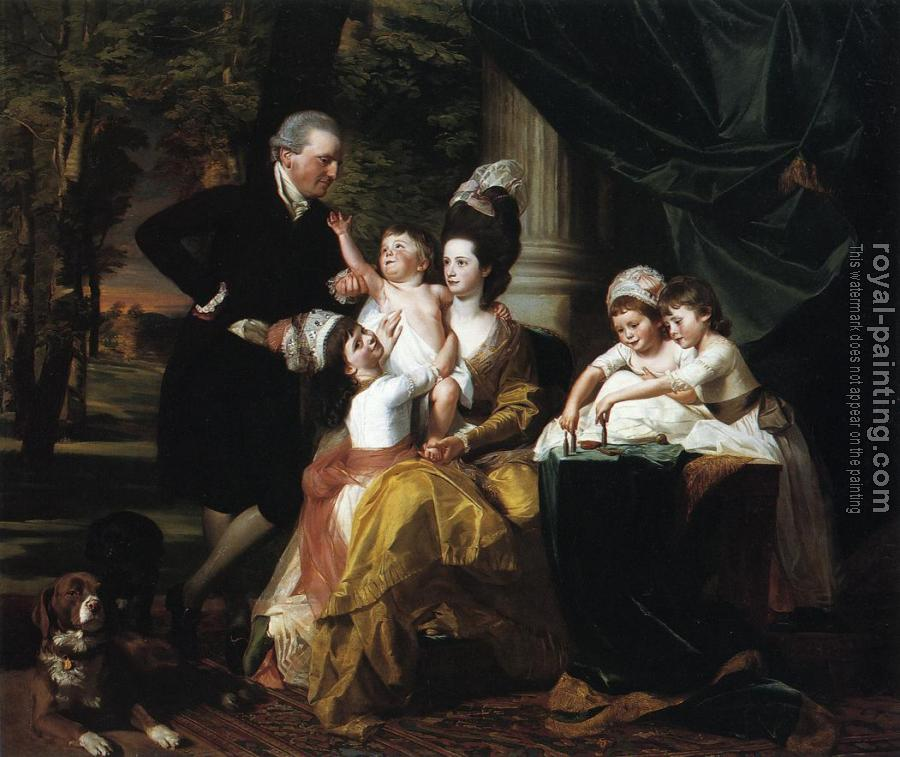 John Singleton Copley : Sir William Pepperrell and Family
