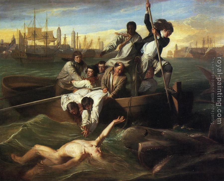 John Singleton Copley : Watson and the Shark