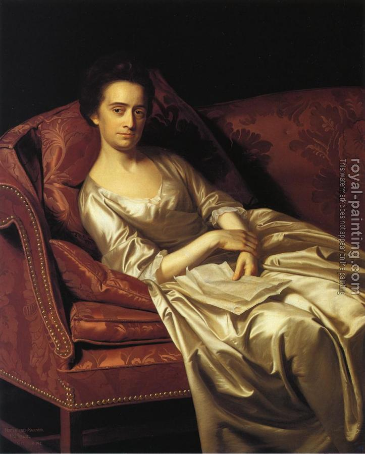 John Singleton Copley : Portrait of a Lady