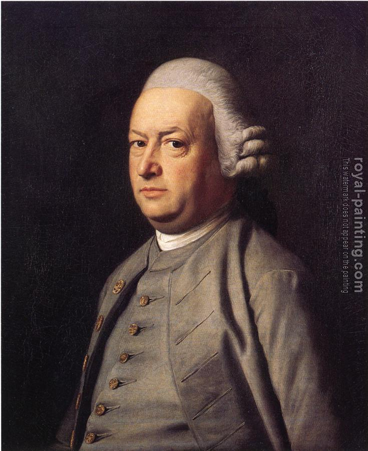 John Singleton Copley : Portrait of Thomas Flucker