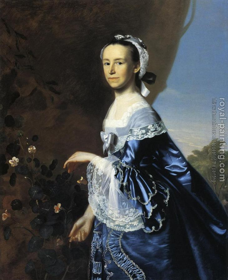 John Singleton Copley : Mrs. James Warren (Mercy Otis)
