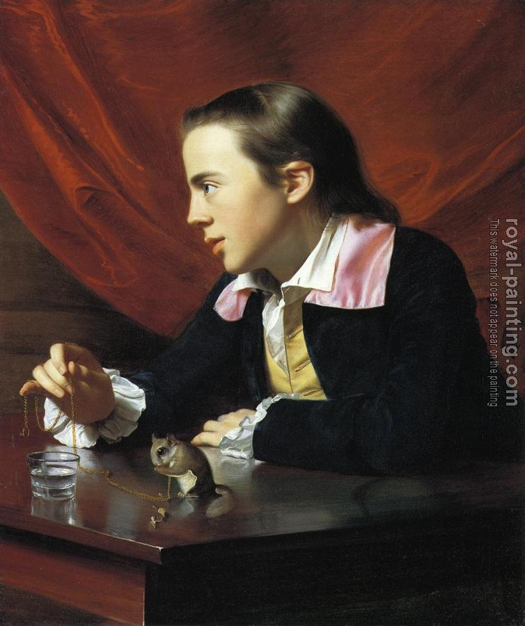 John Singleton Copley : Boy with a Squirrel (Henry Pelham)