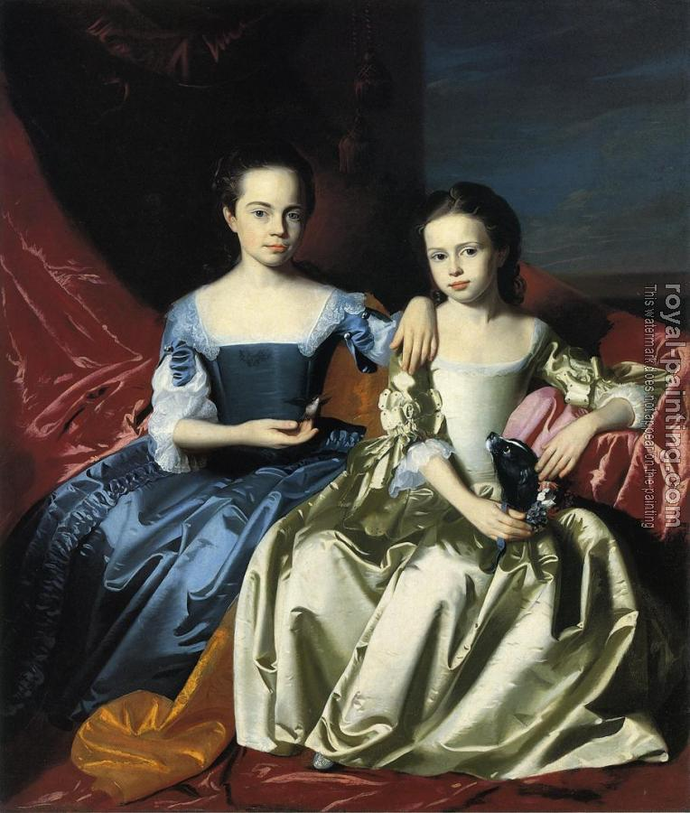 John Singleton Copley : Mary and Elizabeth Royall
