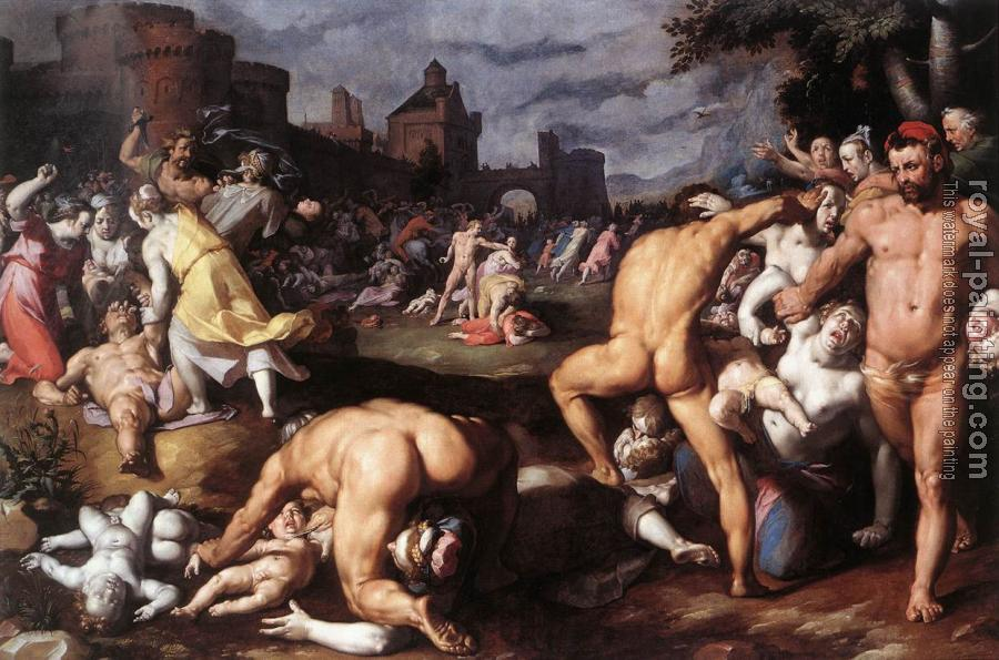 Cornelis Van Haarlem : Massacre Of The Innocents