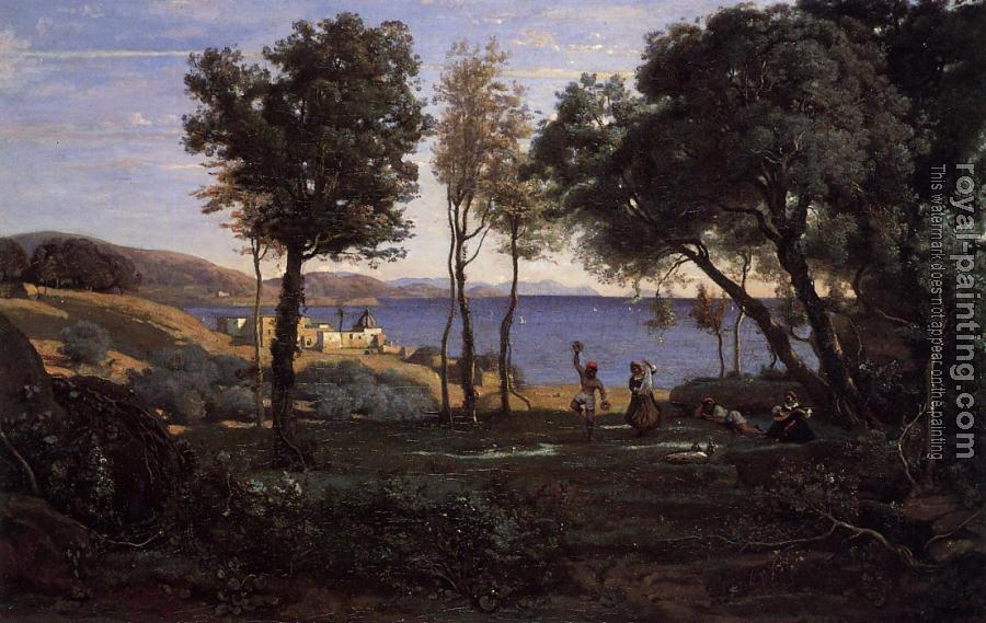 Jean-Baptiste-Camille Corot : View near Naples